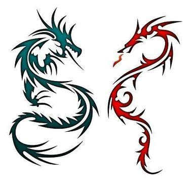 small chinese dragon tattoo designs 15 best matching designs