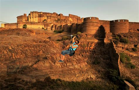 places to a awesome adventure activities neemrana fort places to visit
