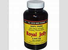 Y.S. Eco Bee Farms, Royal Jelly, 100% Pure, 2,000 mg, 75 ... Royal Jelly Kapseln