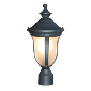 outdoor column light gorgeous black finished outdoor post column light lighting