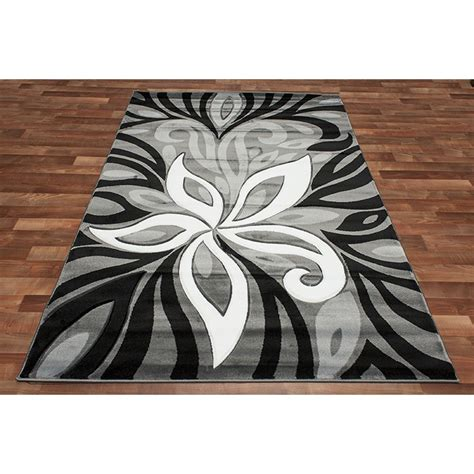 area rug black and white awesome interior black and gray area rugs for house with