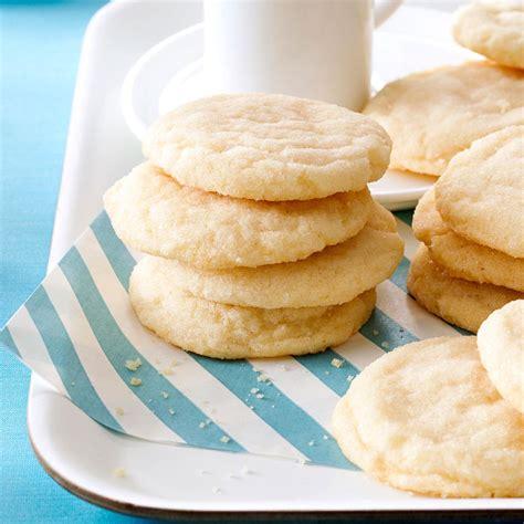 sugar cookie recipes sugar cookies recipe taste of home