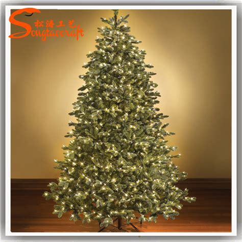 chinese artificial led christmas tree light with christmas