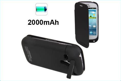 Power Bank Baterai Samsung funda con bater 237 a power bank para samsung galaxy s3 mini negra