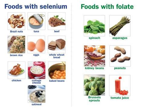 Selenium Detox Symptoms by What Foods Folate Which Selenium