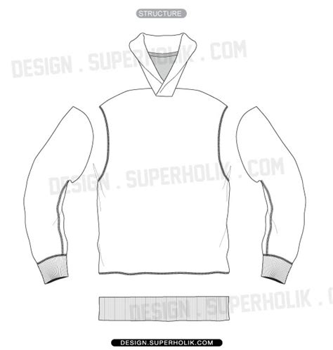 sweater template fashion design templates vector illustrations and clip