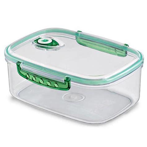 vacuum storage container freshvac pro vacuum food storage container 12 c in