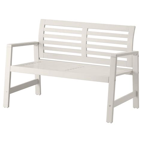 white bench design of white patio bench shop polywood traditional