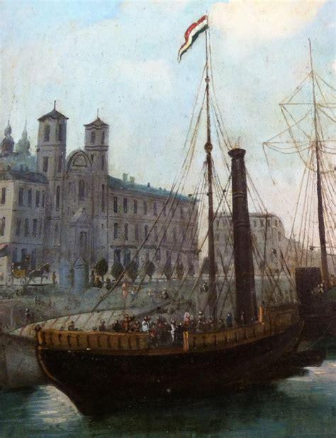 quot bateaux 224 vapeur dans un port d europe centrale