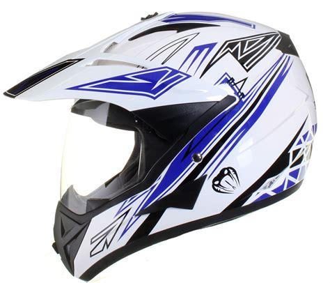 motocross helmets with visor dual sport motocross adventure crash helmet with visor