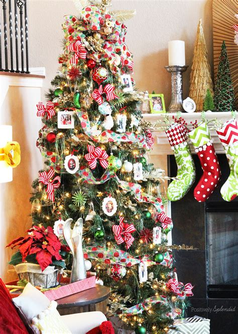 simply decorated christmas trees decorating a tree in 10 easy steps