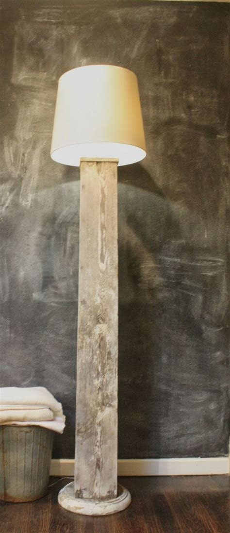 Banister Wood Awesome Diy Floor Lamps