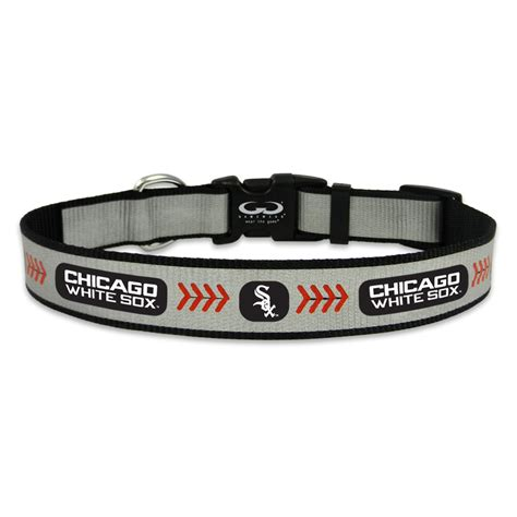 puppy collars chicago white sox reflective collar houndabout