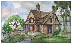 architectural tutorial tudor style visbeen architects tiny home plans garden cottage and tiny homes on pinterest