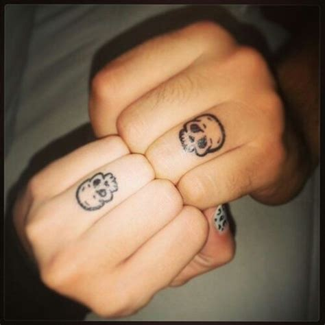 sugar skull finger tattoo best 25 skull finger tattoos ideas on small
