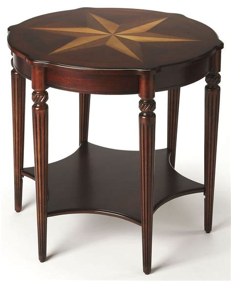 Cherry Accent Table Plantation Cherry 0557024 Accent Table From Butler 557024 Coleman Furniture