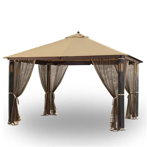 gazebo audio garden winds replacement gazebo cover for gazebos sold at