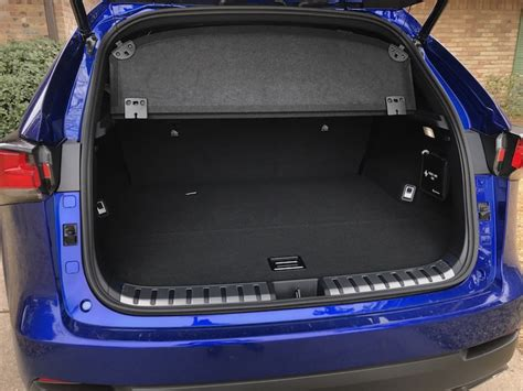 lexus nx 2018 trunk space 2018 lexus nx 300 f sport test drive and review