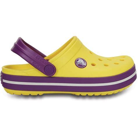 shoes like crocs comfort crocs kids crocband shoe sunshine amethyst all the