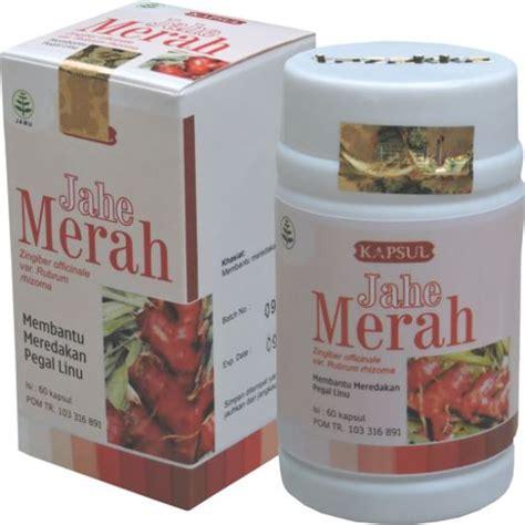 jual obat pegal linu alami herbal jahe merah tazakka asli
