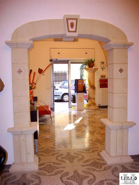 Archi Salone Per Interno by Realizzazione Colonne E Capitelli L Artigiano Tufo