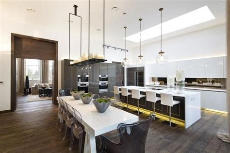 kelly hoppen interior at lansdowne house kitchen pinterest