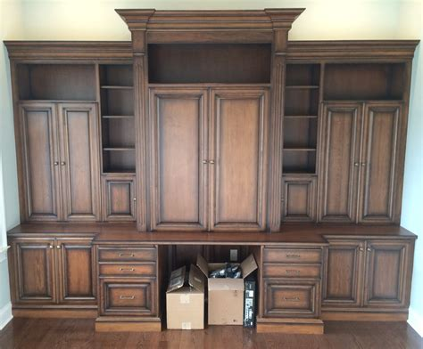built in office cabinets living dining remodeling medford nj aj wehner