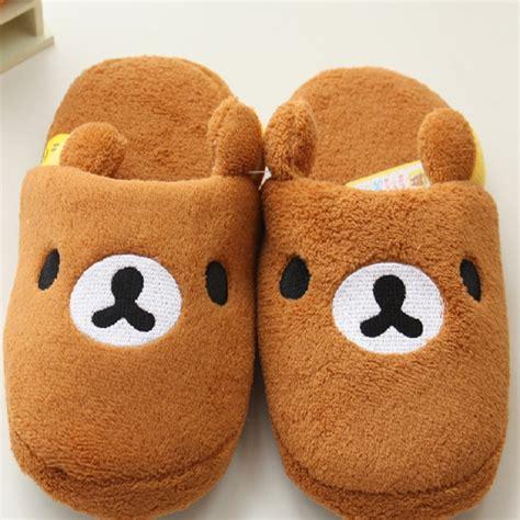 rilakkuma slippers rilakkuma slippers pantoufle femme shoes house