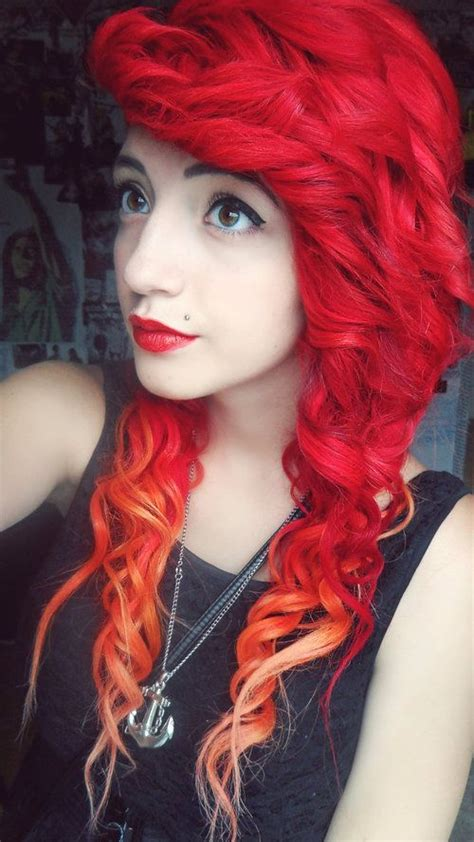 cool dyed hairstyles 20 red hair color trends and styles ciao bella body