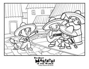 girl mariachi singer coloring pages coloring pages