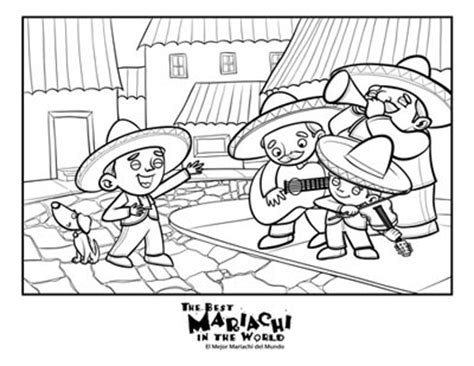 mariachi guitar coloring page quot the best mariachi in the world quot book news