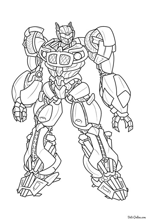 Tobot Y Coloring Pages by раскраска трансформер джаз раскраски трансформеры