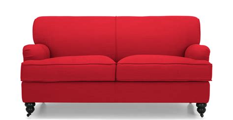 on the red couch the amazing red sofa goodworksfurniture