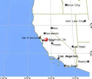 patterson california ca 95363 profile population maps