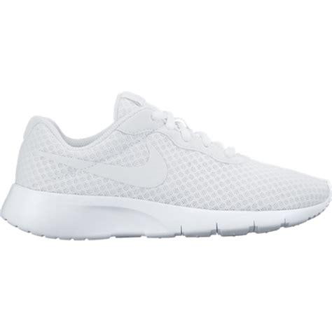 white nike shoes sneakers nike tanjun white fashion shoes turmo