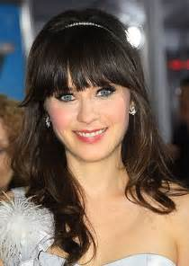 zooey deschanel hair color how to zooey deschanel s silvery style brown hair