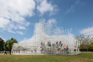 House Plan Design Online interactive art serpentine gallery pavilion by sou