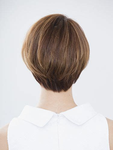 short haircuts showing pic of back of head 17 best ideas about short hair back on pinterest short