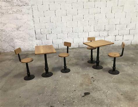 table d ecole ensemble tables et chaises d 233 cole en fonte et bois fin 19 232 me