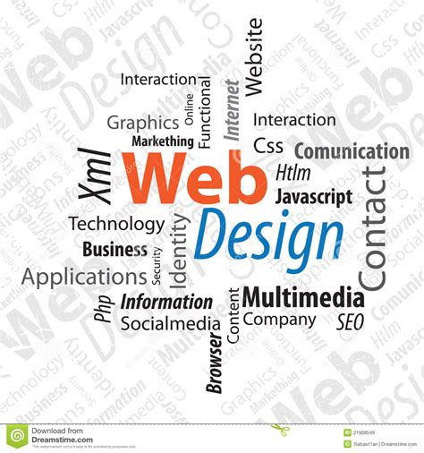 typography web design royalty free stock images image