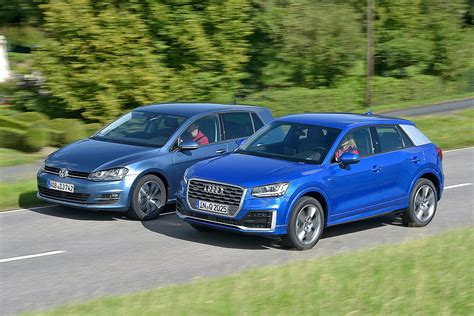 Audi Vs Vw by Audi Q2 Vs Vw Golf Bilder Autobild De