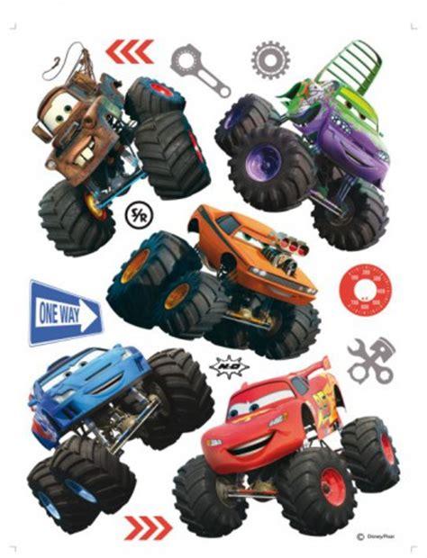 Monster Jam Aufkleber by Cars Toon Monster Truck Hook Und Seine Freunde