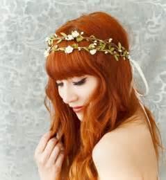 couronnes de fleurs cheveux couronne de fleurs cheveux pour une mari 233 e romantique