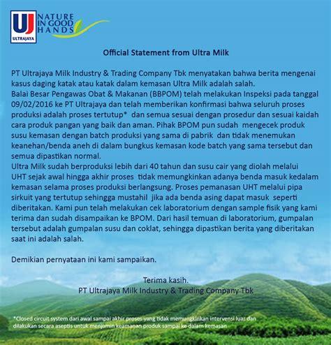 Teh Kotak Ultrajaya pt ultrajaya milk industry tbk