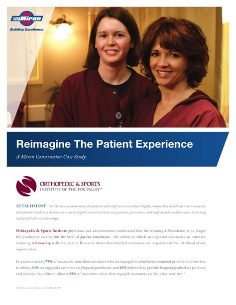 miron construction osi patient experience
