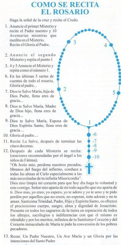 santo rosario completo para difuntos c 243 mo rezar el santo rosario oraciones pinterest