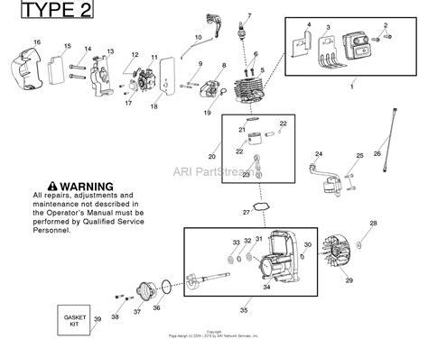 poulan pro parts diagram poulan bvm210vs gas blower type 2 parts diagram for engine