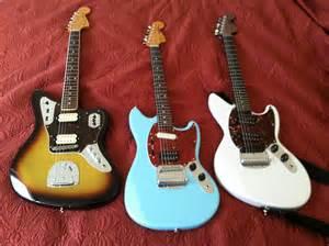 Fender Jaguar Mustang Fender Japan Jaguar Mustang Jagstang All Kurt Cobain