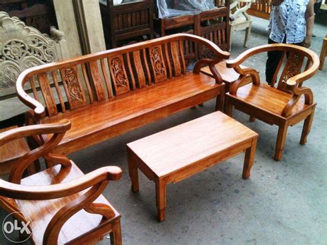 Brand New Solid Wooden Sala Set For Sale Philippines