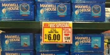 maxwell house coffee just 1 50 at harris teeter living